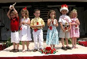 strawberry festival couples pageant winners