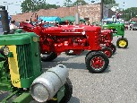strawberry festival tractor show